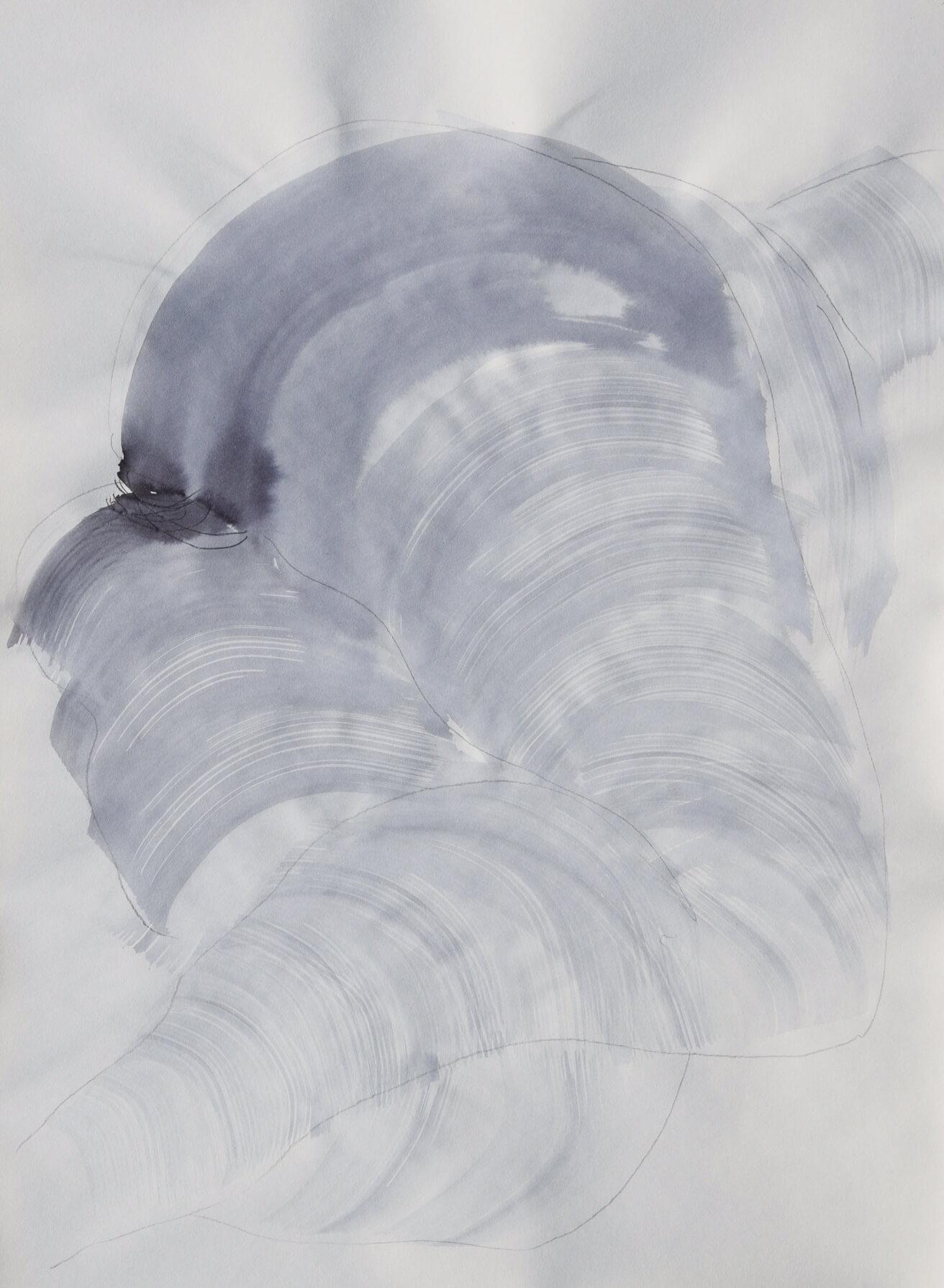 Federico Branchetti - Quadri dipinti - Corpo, acqua e nebbia 2019 - 6