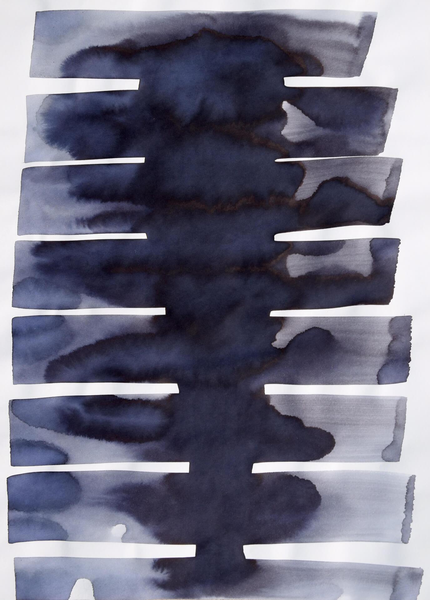 Federico Branchetti - Quadri dipinti - Corpo, acqua e nebbia 2019 - 9