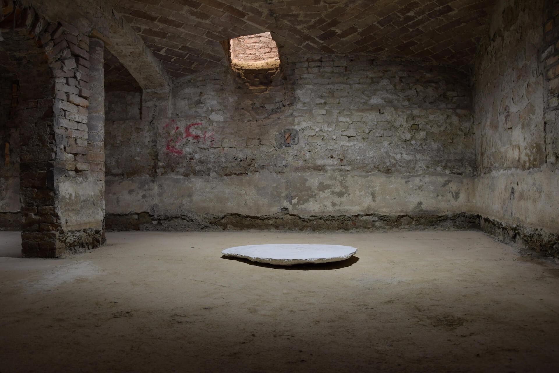 Federico Branchetti - Sculture - Coordinate, gesso 2019