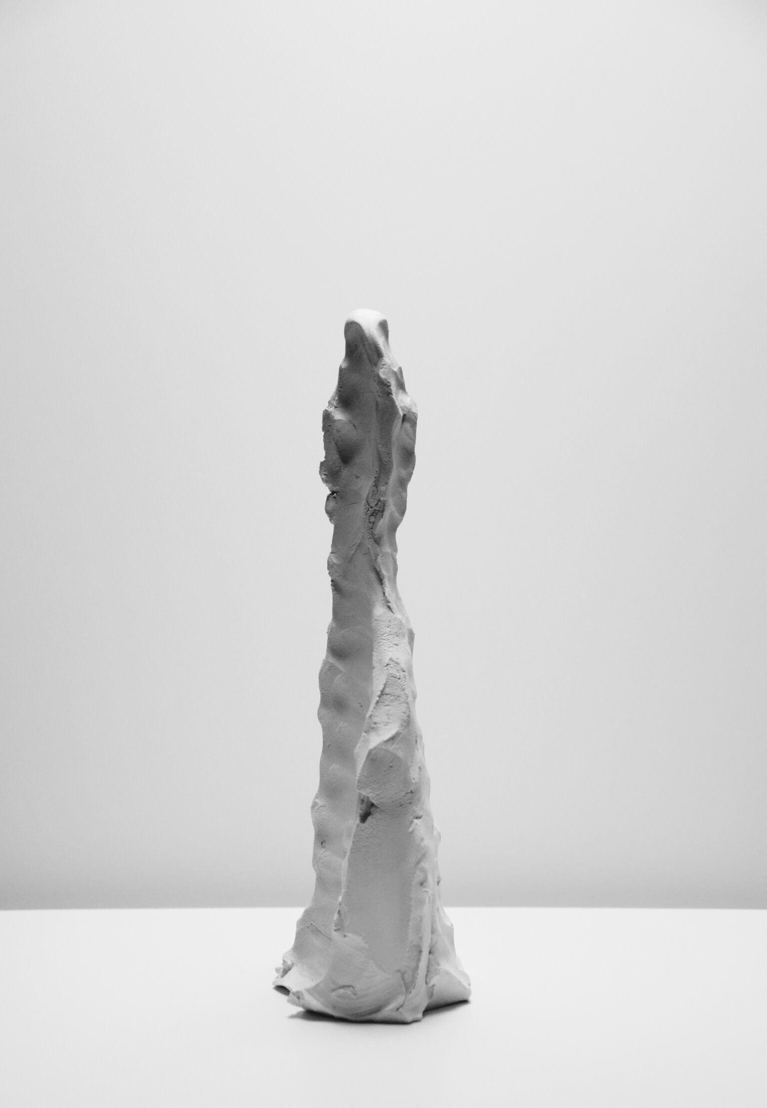 Federico Branchetti - Sculture - Figura che respira, terracotta 2017