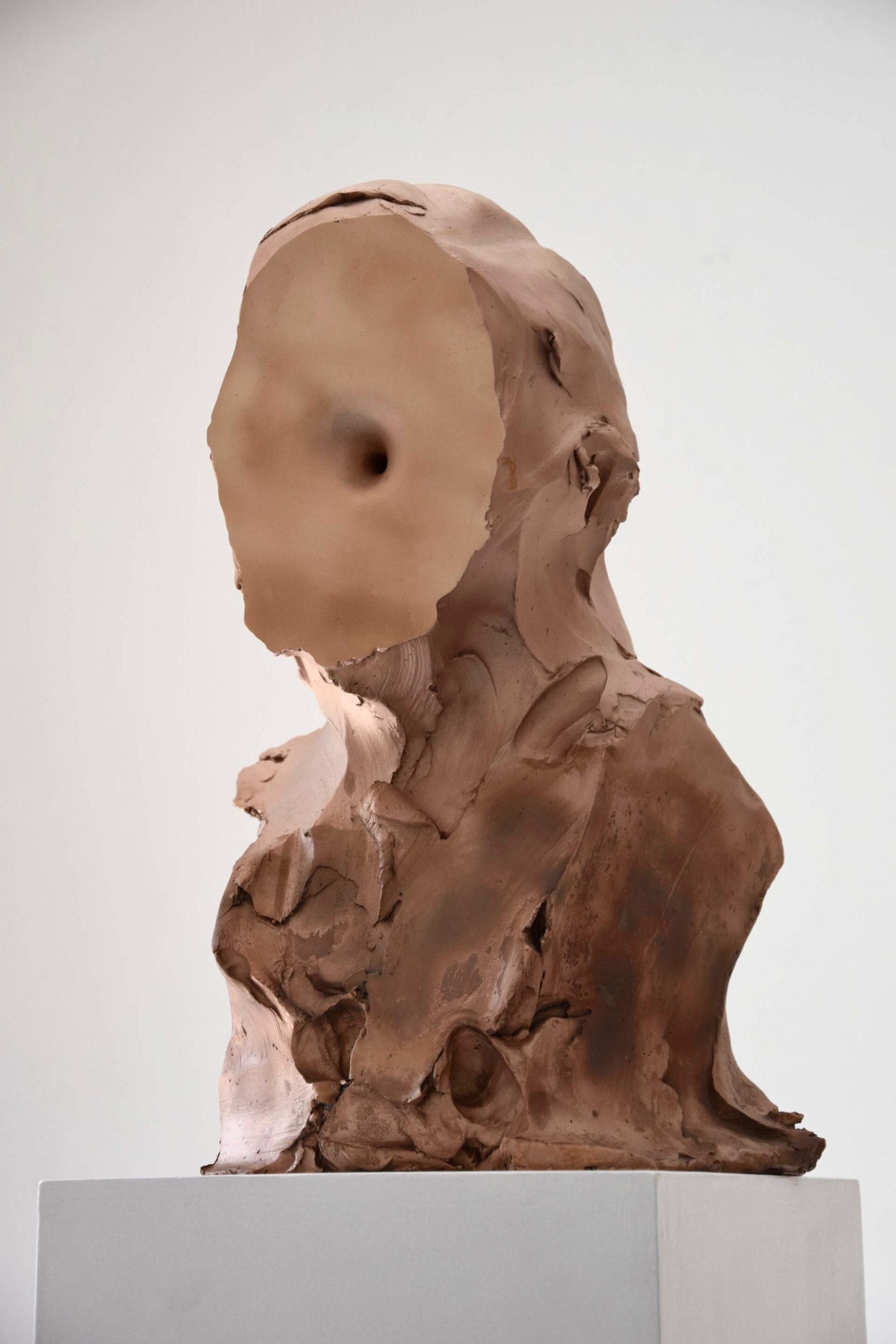 Federico Branchetti - Sculture - M87 (2020) Fonderia Venturi Bologna